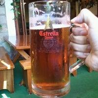Photo taken at El Corral del Pollo by Borja C. on 7/18/2012