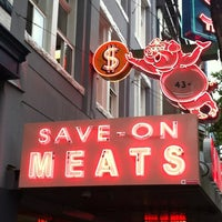 Photo taken at Save On Meats by Dave J. on 6/16/2012