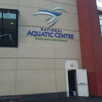 Photo taken at National Aquatic Centre by Giovanna R. on 7/3/2012