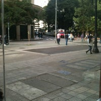 Photo taken at Praça Dom José Gaspar by Rodrigo G. on 5/4/2012