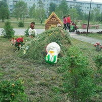 Photo taken at Парк 1- Кирпичный by green091987 on 7/27/2012