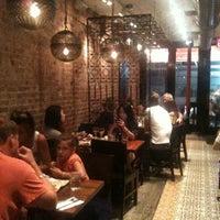 Photo taken at Hummus Kitchen by Jean B. on 8/12/2012