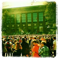Photo taken at University of Michigan by kelly l. on 4/10/2012