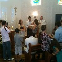 Photo taken at Capela Santa Suzana by Patricia D. on 4/14/2012