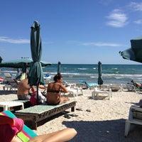 Photo taken at Plaja Savoy by Chris G. on 8/30/2012