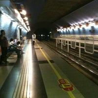 Photo taken at Metro Einstein by Javier F. on 4/3/2012