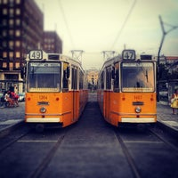 Photo taken at Deák Ferenc tér by Strahinja S. on 9/5/2012
