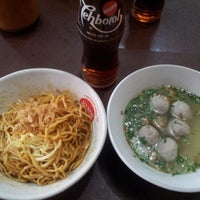 Photo taken at Mie Baso Mas Ary Solo by Arief G. on 8/20/2012