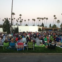 Photo taken at Cinespia by Aaron on 7/22/2012