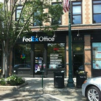 Photo taken at FedEx Office Print & Ship Center by Fernanda R. on 6/30/2012