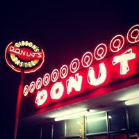 Photo taken at Gibson's Donuts by Anand P. on 7/4/2012