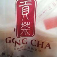 Photo taken at Gong Cha 貢茶 by Ker Xin Y. on 4/23/2012