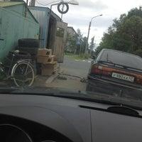 Photo taken at Шиномонтаж by Сидр on 8/9/2012