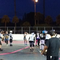 Photo taken at Suniland Roller Hockey Court by Shella on 8/19/2012