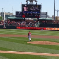 Photo taken at Hawks Field at Haymarket Park by Troy C. on 4/21/2012