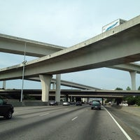 Photo taken at Spaghetti Junction (Tom Moreland Interchange) by Andrew S. on 8/15/2012