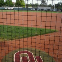Photo taken at Marita Hynes Field at the OU Softball Complex by sally M. on 4/26/2012