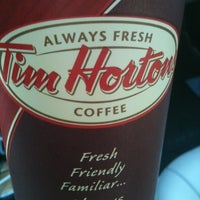 Photo taken at Tim Hortons by Kevin on 8/17/2012