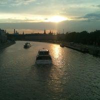 Photo taken at Bolshoy Ustyinsky Bridge by Elena S. on 6/15/2012