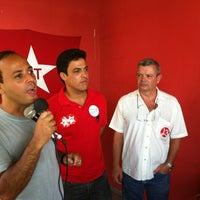 Photo taken at Inauguração de Comitê no Preventório by Rodrigo N. on 9/8/2012