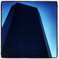 Photo taken at Bank of America Plaza by David T. on 2/19/2012