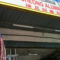 Photo taken at Tick Cheong Aluminium Sdn Bhd by Jst on 7/12/2012