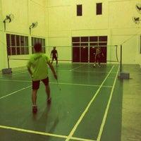 Photo taken at Arena Badminton, ST JOHN by Alam ramadan S. on 7/1/2012