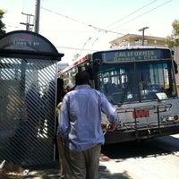 Photo taken at Muni #1 Bus Stop At 19th by Christina H. on 7/24/2012