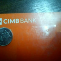 Photo taken at CIMB Bank by Kishvan K. on 8/4/2012