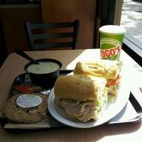 Photo taken at TOGO'S Sandwiches by Corey O. on 2/29/2012