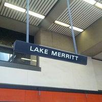 Photo taken at Lake Merritt BART Station by Paul R. on 6/16/2012