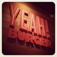 Photo taken at YEAH! Burger by Kenneth U. on 4/4/2012