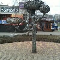 Photo taken at Памятник котенку by Вадим Ш. on 4/6/2012