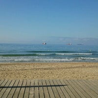 Photo taken at Platja del Miracle by Android B. on 6/16/2012