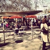 Photo taken at Bellevueplatz by Anthony M. on 3/29/2012
