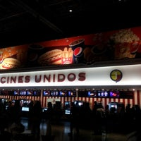Photo taken at Cines Unidos by Alfred C. on 8/24/2012