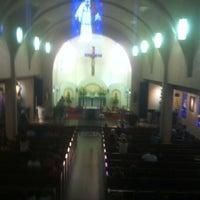 Photo taken at Sacred Heart Catholic Church by Mark G. on 7/22/2012