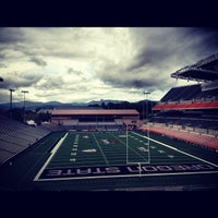 Photo taken at Reser Stadium by Greg U. on 9/10/2012