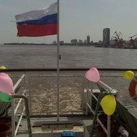 Photo taken at Теплоход Амур by Катрин on 9/1/2012