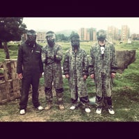 Photo taken at Rhinos Paintball by Julio F. on 7/20/2012