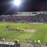 Photo taken at Estádio Moisés Lucarelli by Marcelo T. on 8/15/2012