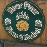 Photo taken at Bear Paw Pizza by Angie G. on 5/27/2012