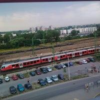 Photo taken at Tatabánya vasútállomás by Herczeg I. on 7/5/2012