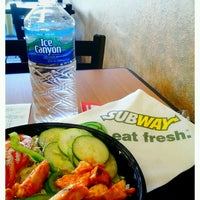 Photo taken at SUBWAY by Luisa R. on 2/27/2012