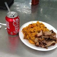 Photo taken at Dela's BBQ by Juan C. on 4/22/2012