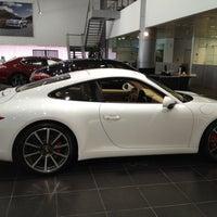 Photo taken at Porsche Showroom by Meem on 6/14/2012