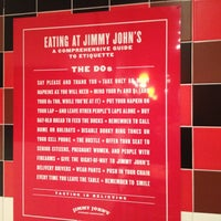 Photo taken at Jimmy John's by Lee H. on 3/10/2012