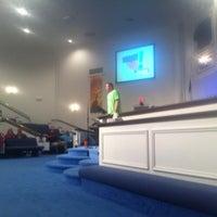 Photo taken at Lexington Baptist Temple by Joseph R. on 7/15/2012