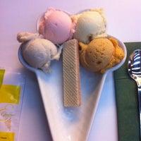 Photo taken at Efendiler Dondurma & Cafe by Seckin Y. on 8/10/2012
