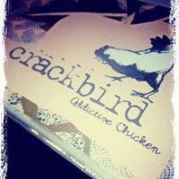 Снимок сделан в Crackbird пользователем Claire K. 6/21/2012
